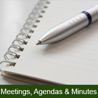 Meeting, Agendas & Minutes Icon