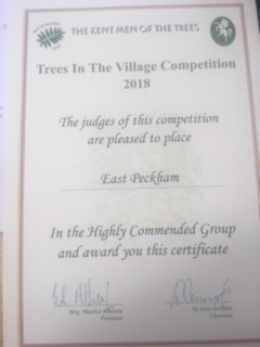 2018 Trees in the Village Competition