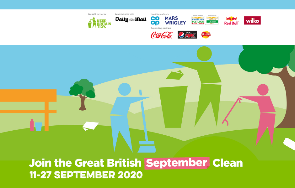 Keep Britain Tidy Great September Clean poster